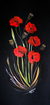 Bunch of Poppies by Dorothy Maier