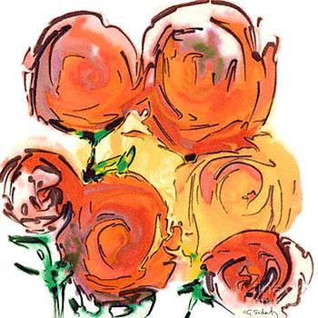 Bunch of Roses by Gabrielle Schertz