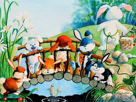 Hanne Lore Koehler - Bunnies On A Bridge