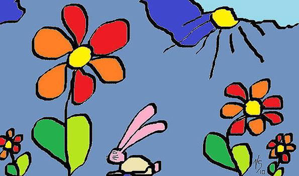 Bunny Hop by Vivian Sutherland