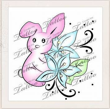 Jeanette K - Bunny Rabbit with Lilly