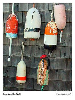 Art  MacKay - Buoys on the Wall