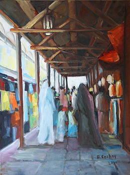 Bur Dubai Market by Brigitte Roshay