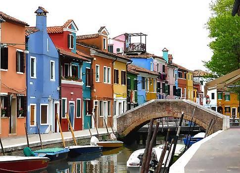 Bishopston Fine Art - Burano Island Venice