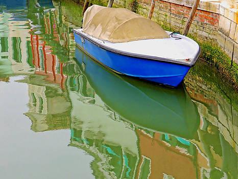Burano Reflections by Bishopston Fine Art
