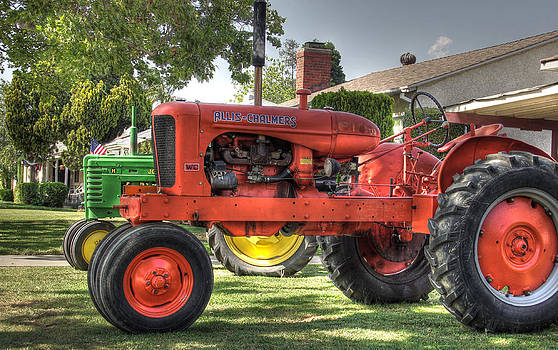 Burbank Tractors #1 by Richard Hinds