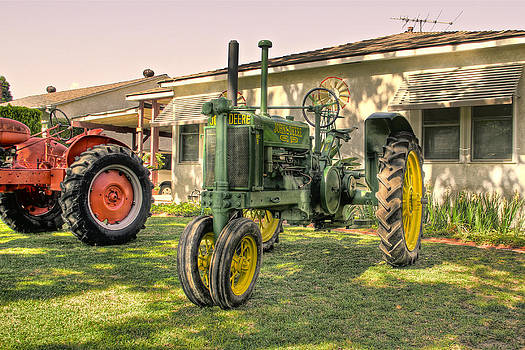 Burbank Tractors #2 by Richard Hinds
