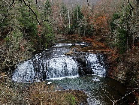 Burgess Falls Waterfalls by Alina Skye