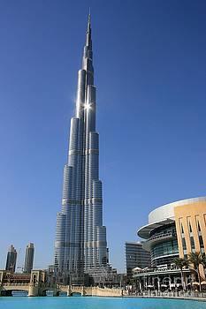 Burj Khalifa by David Gardener