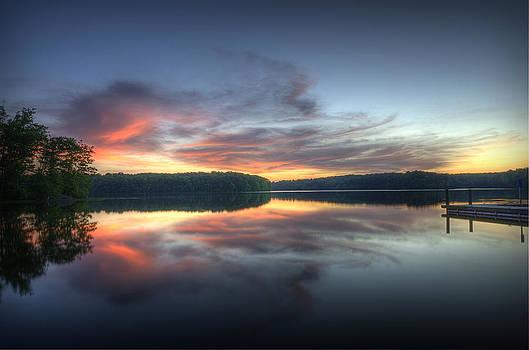 Burke Lake Reflection by Michael Donahue