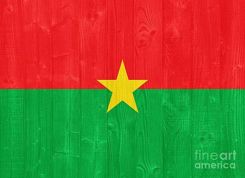 Burkina Faso flag by Luis Alvarenga