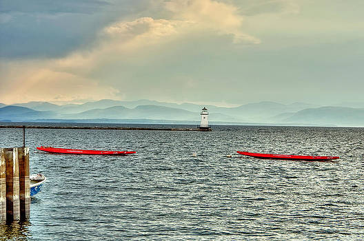 Burlington Light by Jim Proctor