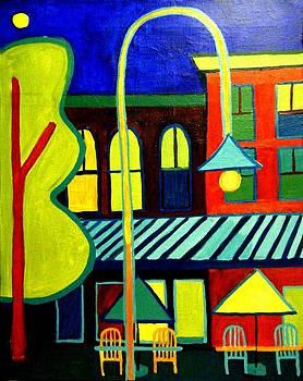 Burlington VT street scene by Debra Bretton Robinson