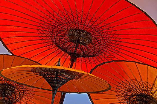 Dennis Cox WorldViews - Burmese umbrellas