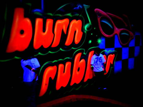 Burn Rubber by Carrie Putz