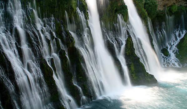 Burney Falls by Andrea Borden