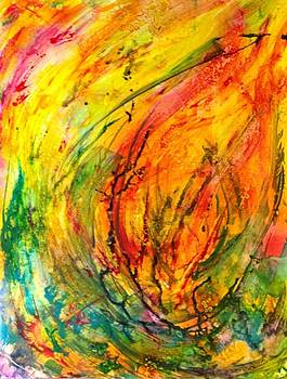 Burning Bush by Deborah Brown Maher