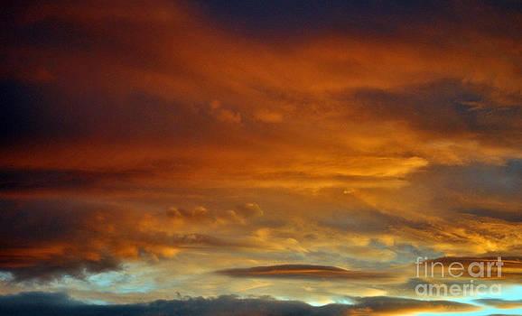 Burning Sky  by Juls Adams
