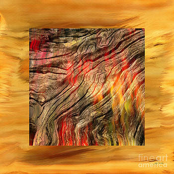 Burning Wood Abstract Photograph  by Heinz G Mielke