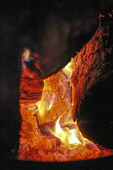 Burning Wood by Cassandra NightThunder