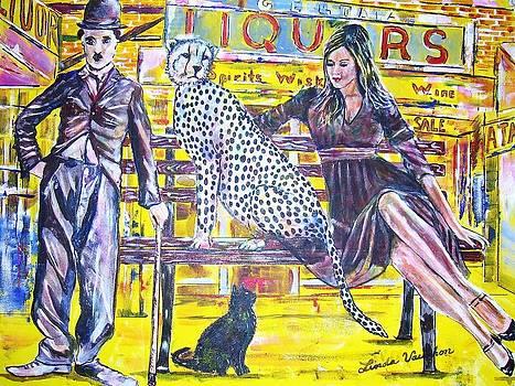 Bus Stop by Linda Vaughon