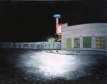 Bus Stop Macon Georgia by Richard Barham