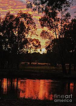 Bush Sunset by Blair Stuart