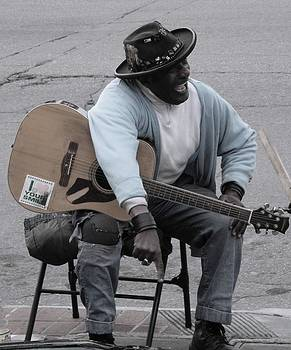 Busker With Style by Sue McElligott