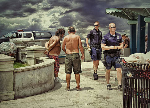 Busted On The Boardwalk .... by Bob Kramer