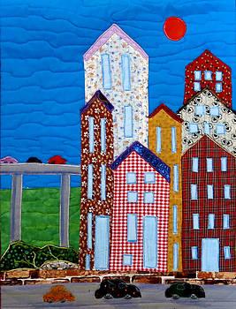 Busy City by Maureen Wartski