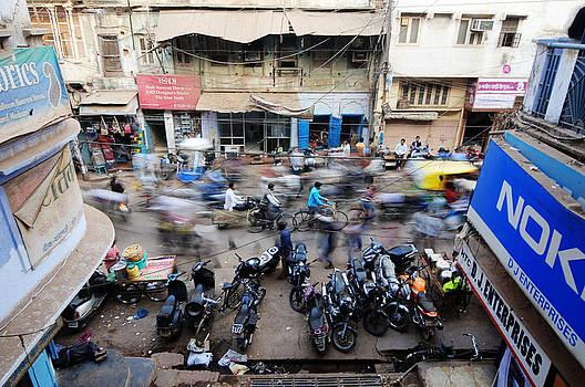 Busy Street by Money Sharma