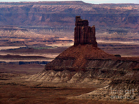 Butte at Capital Reef by Eva Kato