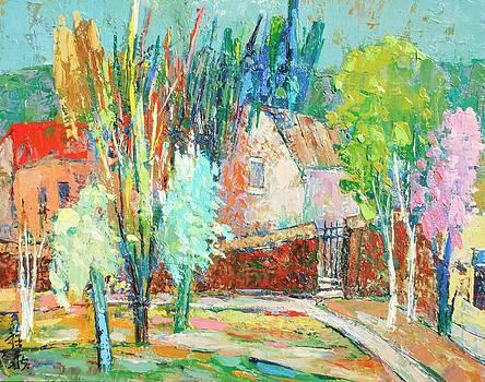 Butter Mint trees by Siang Hua Wang