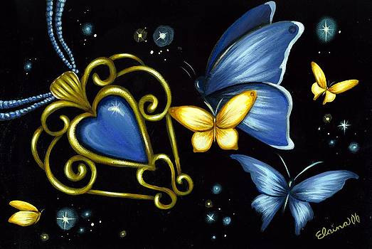 Butterflies and Hearts 9 by Elaina  Wagner