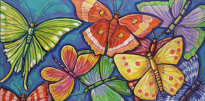 Butterflies by Ilene Richard