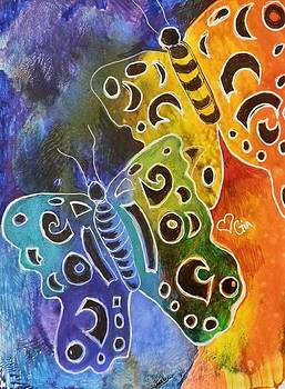 Butterflies by Jann Elwood