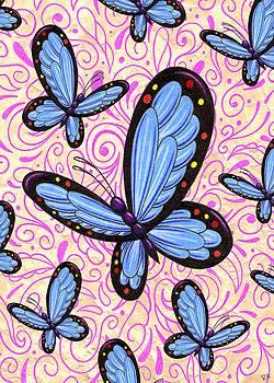 Butterflies of Blue by Rik Hayes