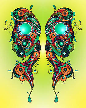 Butterfly 1 by Kate Johnson