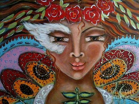 Butterfly Angel by Maya Telford