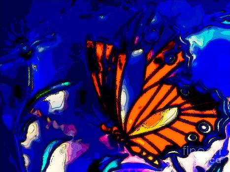 Butterfly Blues  by Michelle Stradford