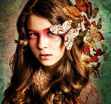 Butterfly Girl by Renee Sarasvati