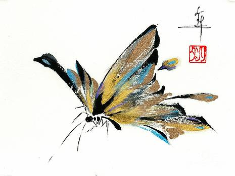 LINDA SMITH - Butterfly in Mica