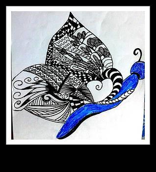 Butterfly by Juna Dutta