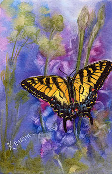 Butterfly by Katherine  Berlin