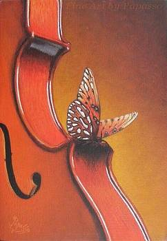 Butterfly Kisses 2 by Kathie Papasso