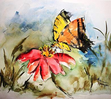 Butterfly   by Mary Spyridon Thompson