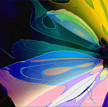 Butterfly Wing by Mahnaz Ahmed