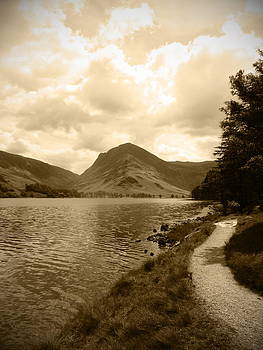 Buttermere Bright Sky by Kathy Spall