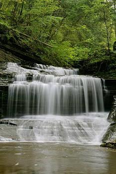 Buttermilk Falls by Judd Connor