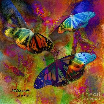 Buttrerfly Collage All About Butterflies by Judy Filarecki